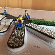 Capitan Barriera collauda il modello 3D dello spazio attrezzato
