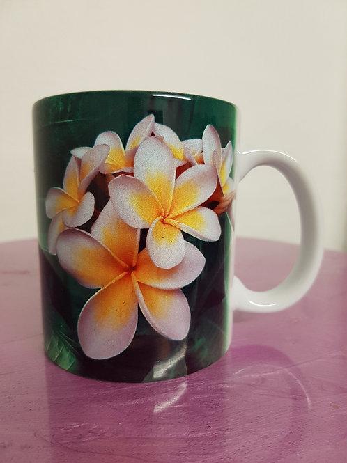I love Frangipani coffee mug