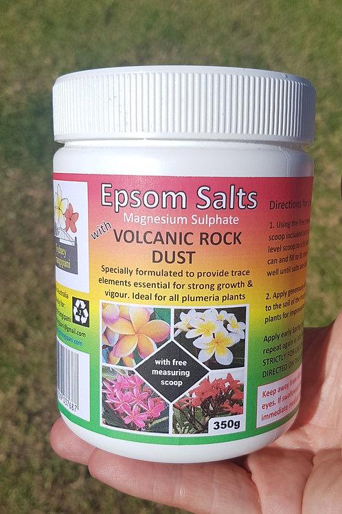 Epsom Salts with Volcanic rock dust