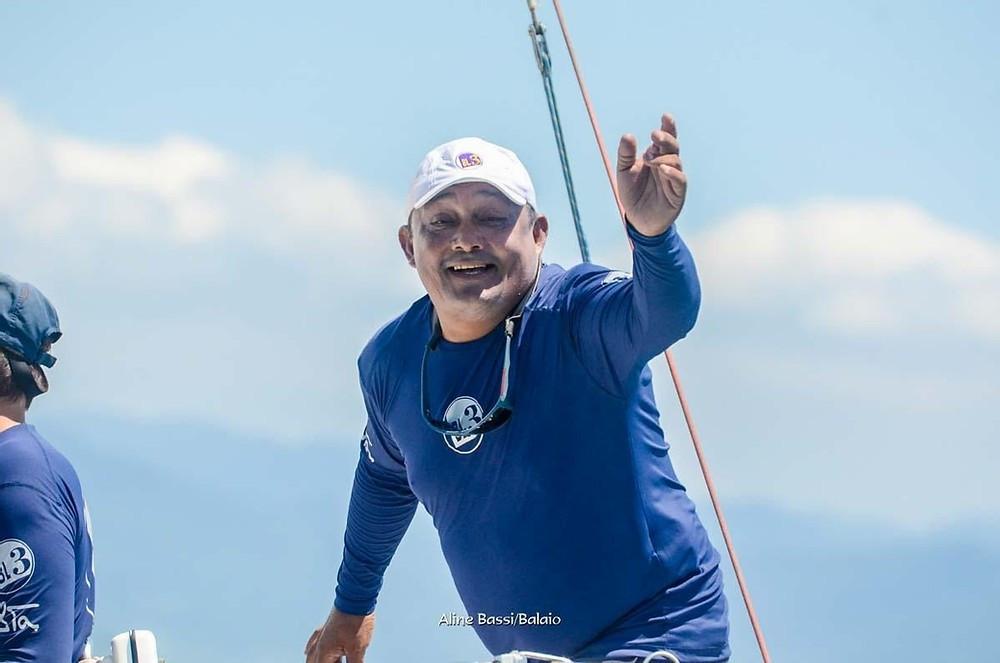 Cmte Clauberto Andrade há 30 anos no mar.