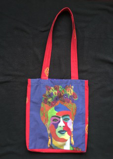 Bolsa Frida Khalo by Luz Castaneda