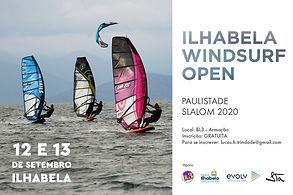 CAMPEONATO PAULISTA DE SLALOM 2020 - Ilhabela Windsurf Open