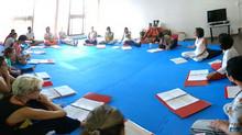 Curso de Yoga Integral em Belo Horizonte começou neste final de semana