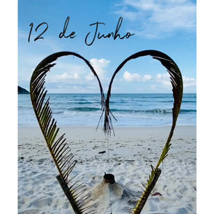 Valentines Day in Brasil. The man and the Sea