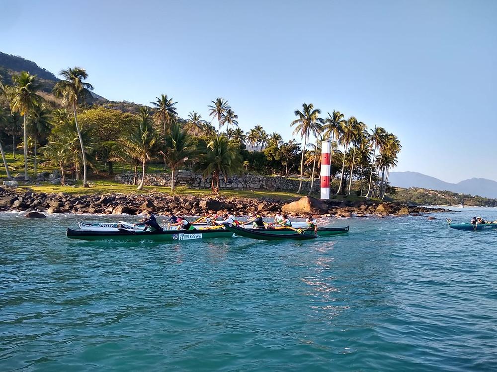 Canoa Polinesia com Paulao dos Reis BL3