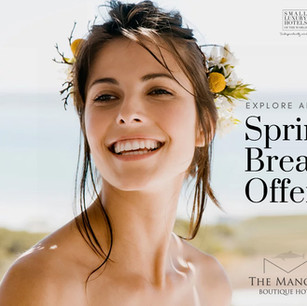 Promotion for a Beach Hotel
