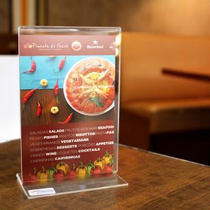 Acrylic Table Display