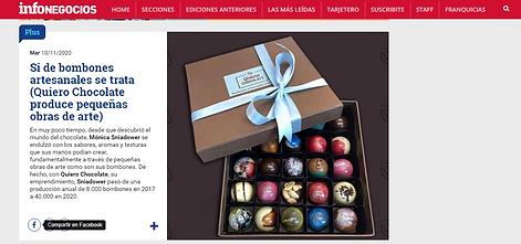 infoNegocios Uruguay Quiero Chocolate.pn