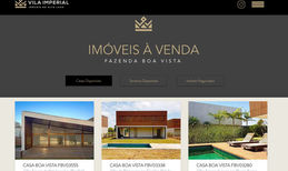 Vila Imperial Imoveis Luxury Real Estate Designed on Wix Code