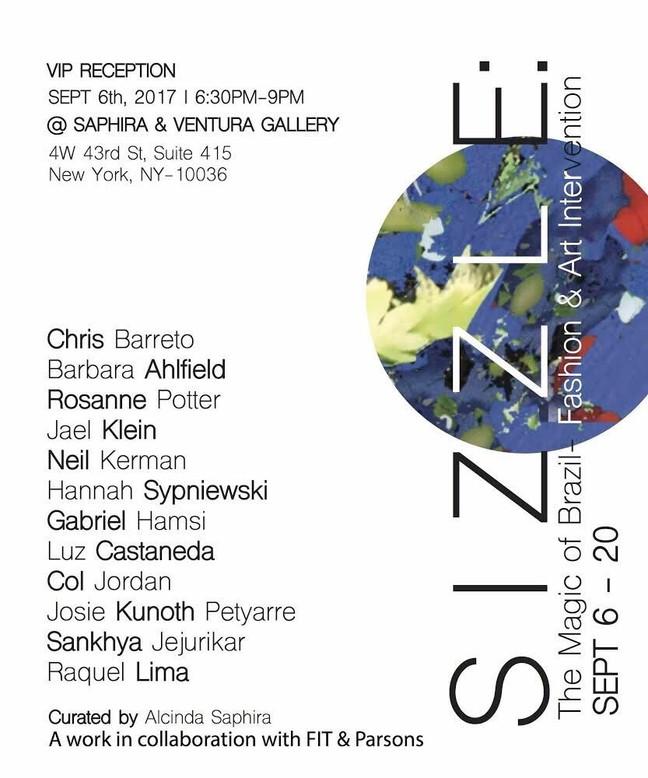 Luz Castaneda new exhibition at Saphira & Ventura Gallery New York