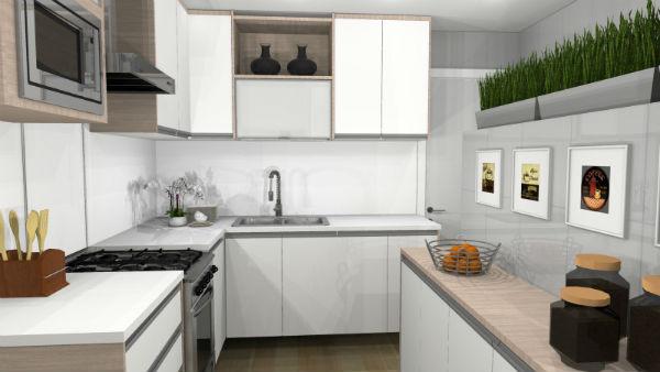 Antes e depois - Projeto cozinha