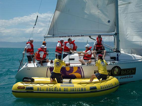Team building em veleiros com a BL3