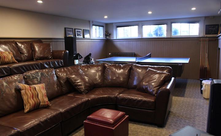 Basement/TV room 1