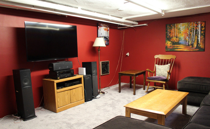 Basement/TV Room