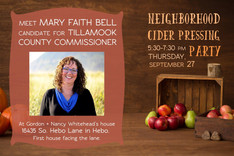 September 27th South County Cider Pressing Party
