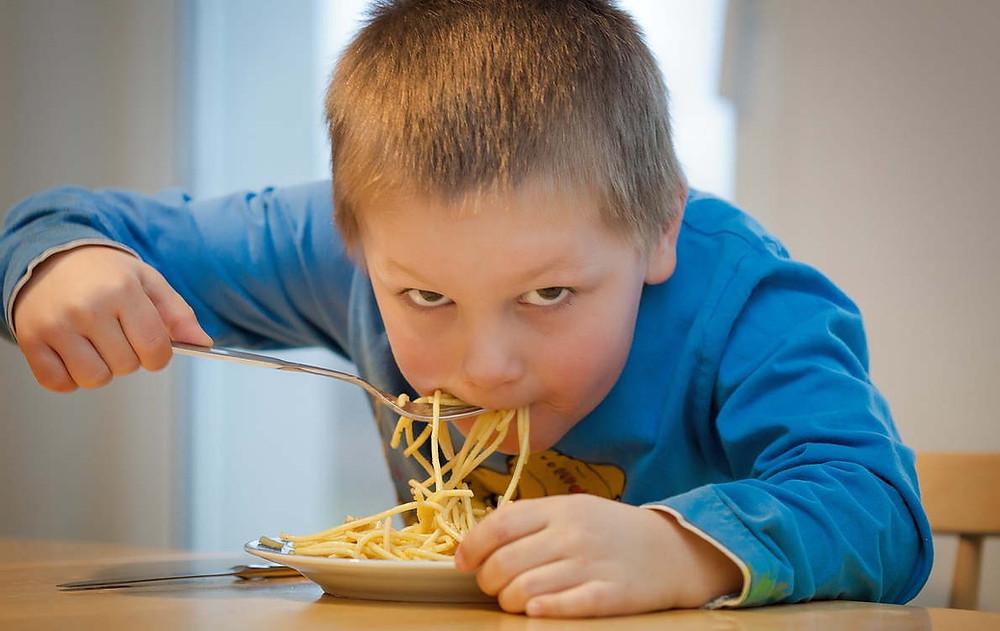 come enjoy spaghetti