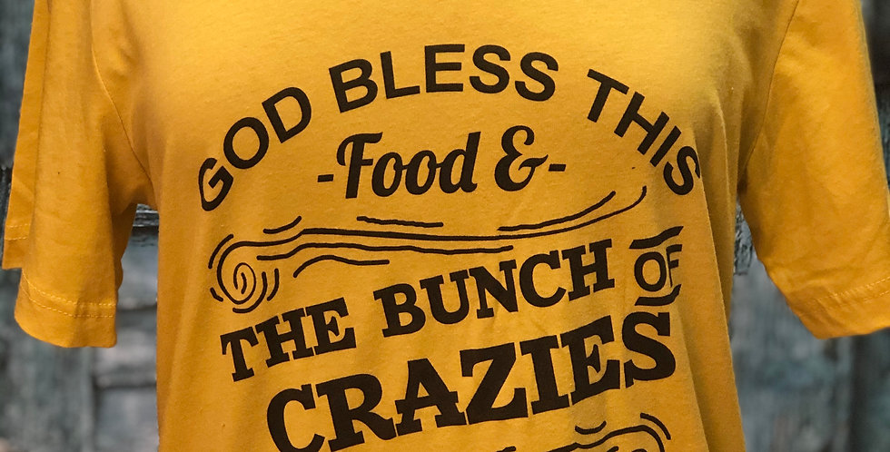 God Bless This Food Tee