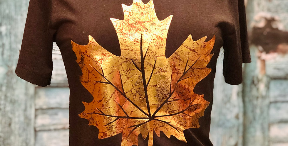 Golden Leaf Tee