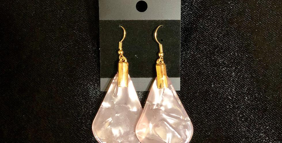 Light Pink Diamond Earrings