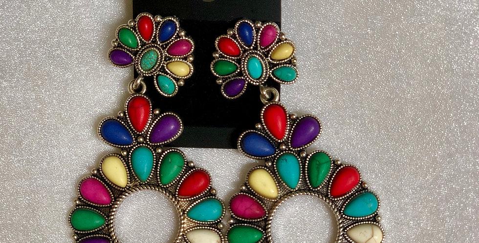 Colorful Dangle Earrings