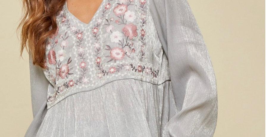 Shimmery Top by Savanna Jane