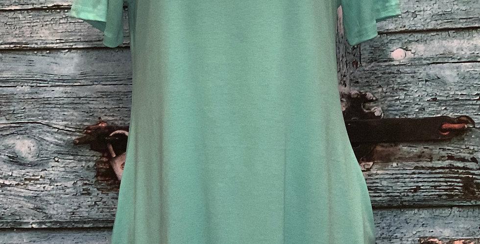 Green Pocket Dress