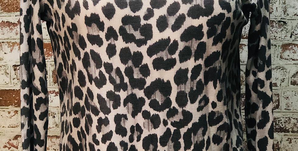 Grey Cheetah Top