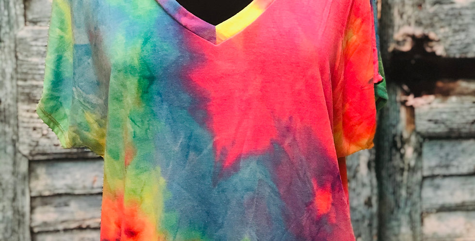 Tye-Dye Low Cut Top