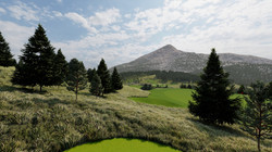 Lone Mountain at Golf Hole 2