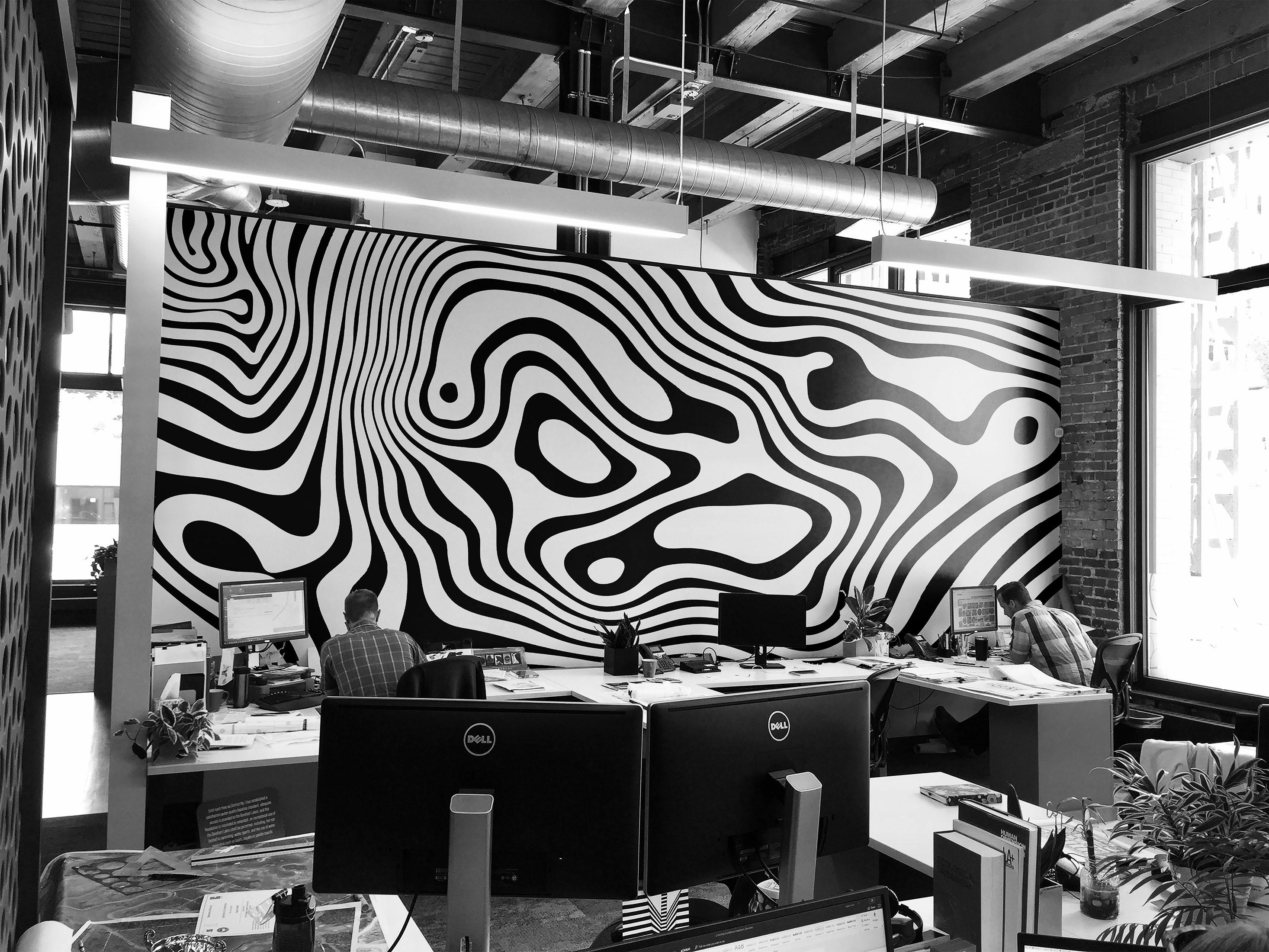 Office Mural Mockup 2