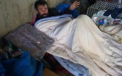 Entrega de Cobertores