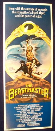 USA Beastmaster Halfsheet