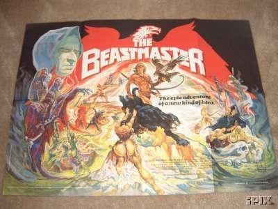 British Beastmaster Poster