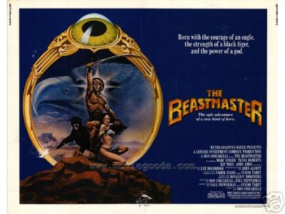 The Beastmaster Theater Poster