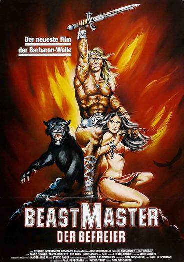 German Beastmaster Poster