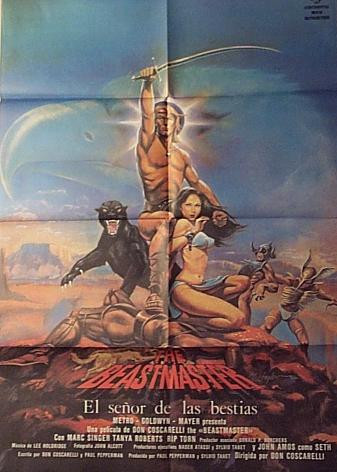 Spain Beastmaster Poster