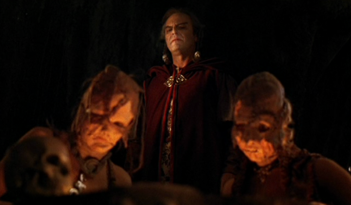 Zed with Witch Women