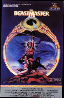 VHS USA Beastmaster Cover