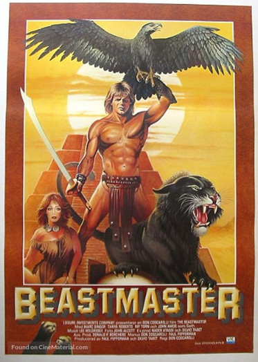 Swedish Beastmaster Poster