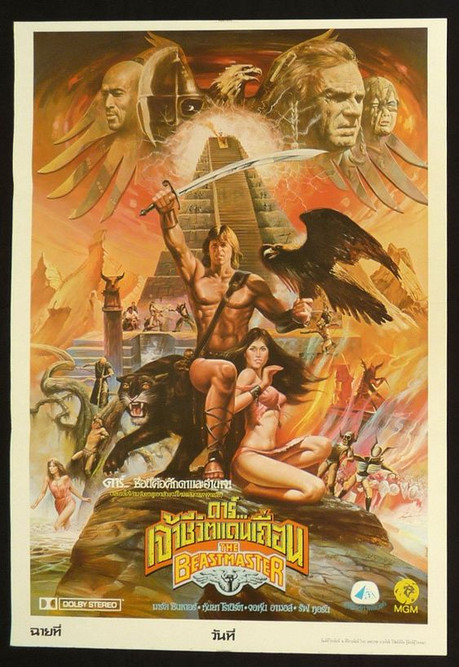 Thailand Beastmaster Poster