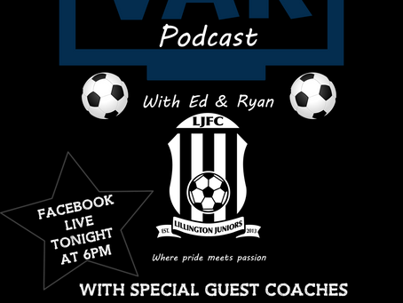 Checking VAR podcast is LIVE today!