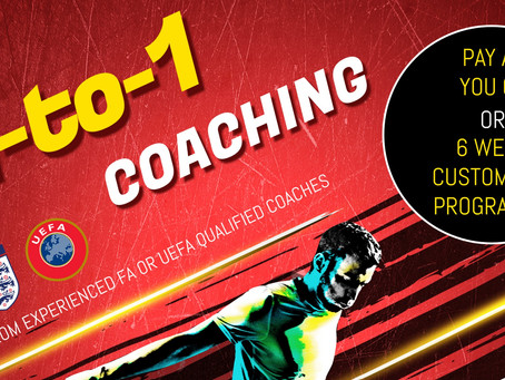 1-to-1 Coaching With LJFC!