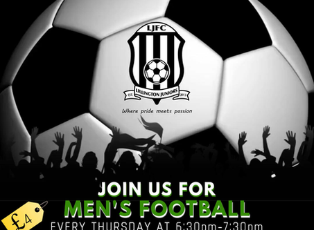 Men's Casual Football Returns!