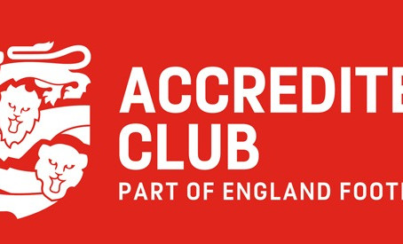 We Are England Football Accredited!