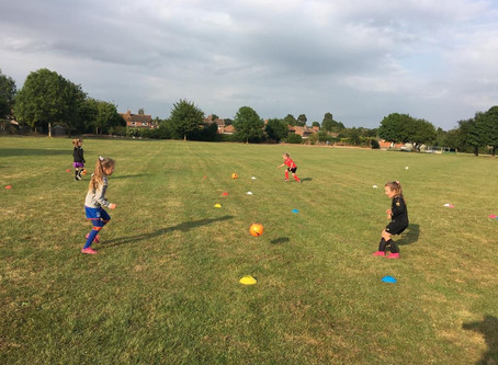 Football fun returns to LJFC!