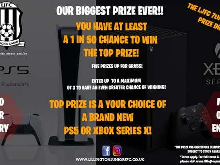 Win a new PS5 or Xbox Series X!