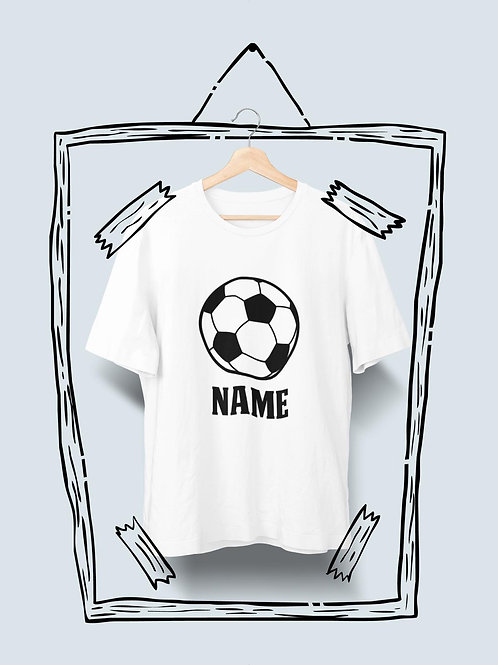 Football T-Shirt With Name
