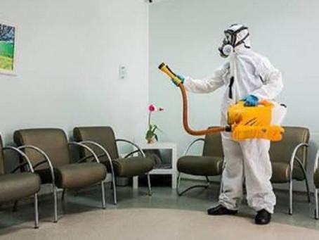 Procura por serviços de sanitização cresce em meio à pandemia