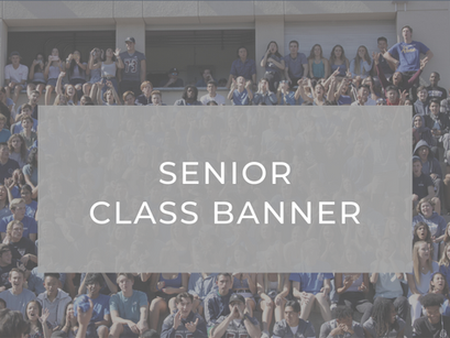 Senior Class Banner