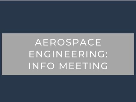 Aero Club Informational Meeting